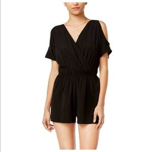 One clothing black romper